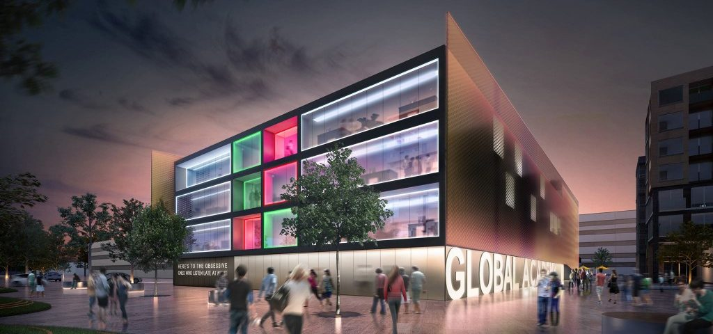 global academy school building plan