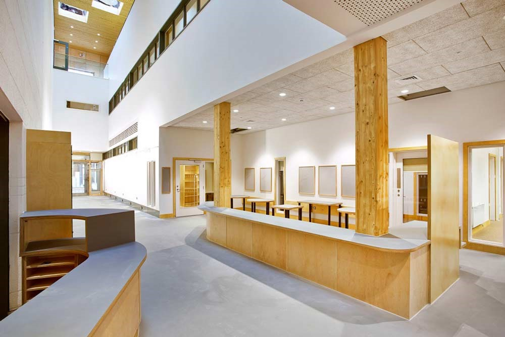 East Dulwich School interior
