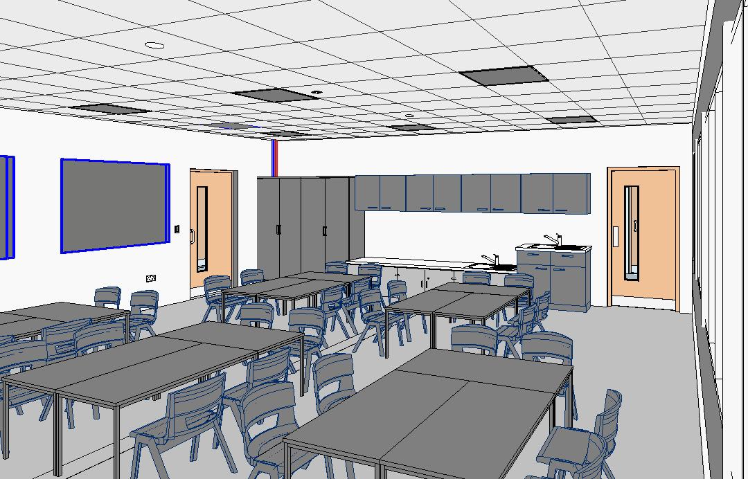 green park primary school internal BIM