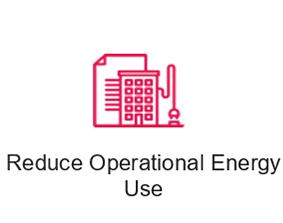 reduce operational energy use icon